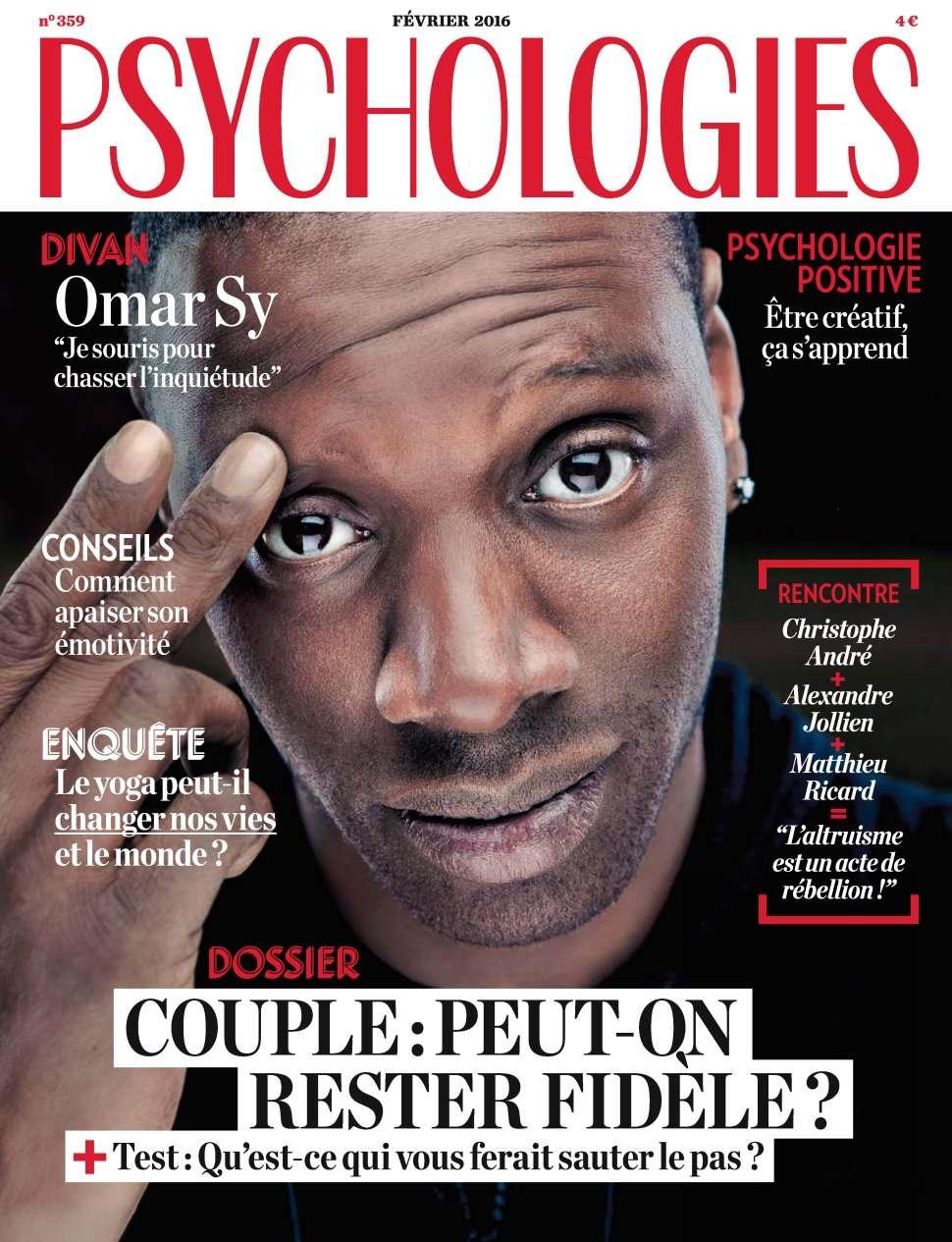 Psychologies magazine 359 - Février 2016