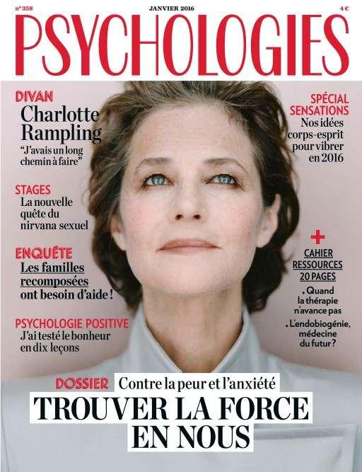 Psychologies magazine 358 - Janvier 2016
