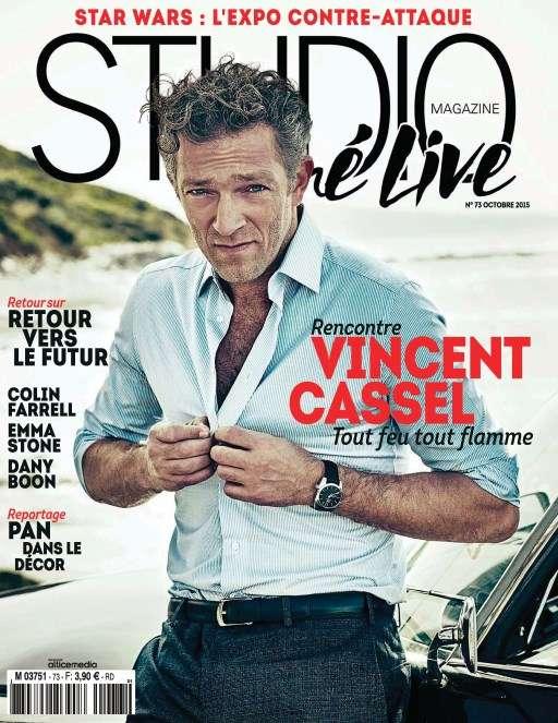 Studio Ciné Live 73 - Octobre 2015
