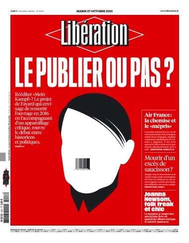 Libération du Mardi 27 Octobre 2015