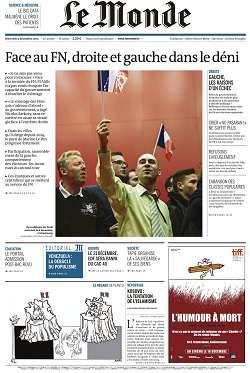 Le Monde + 2 suppléments du Mercredi 9 Décembre 2015