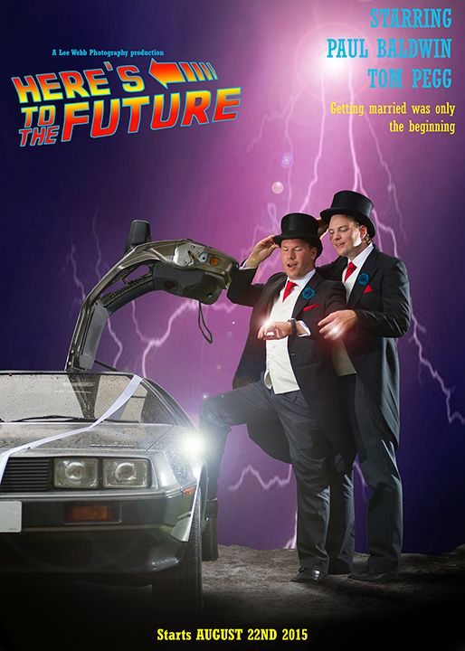 back to the future wedding