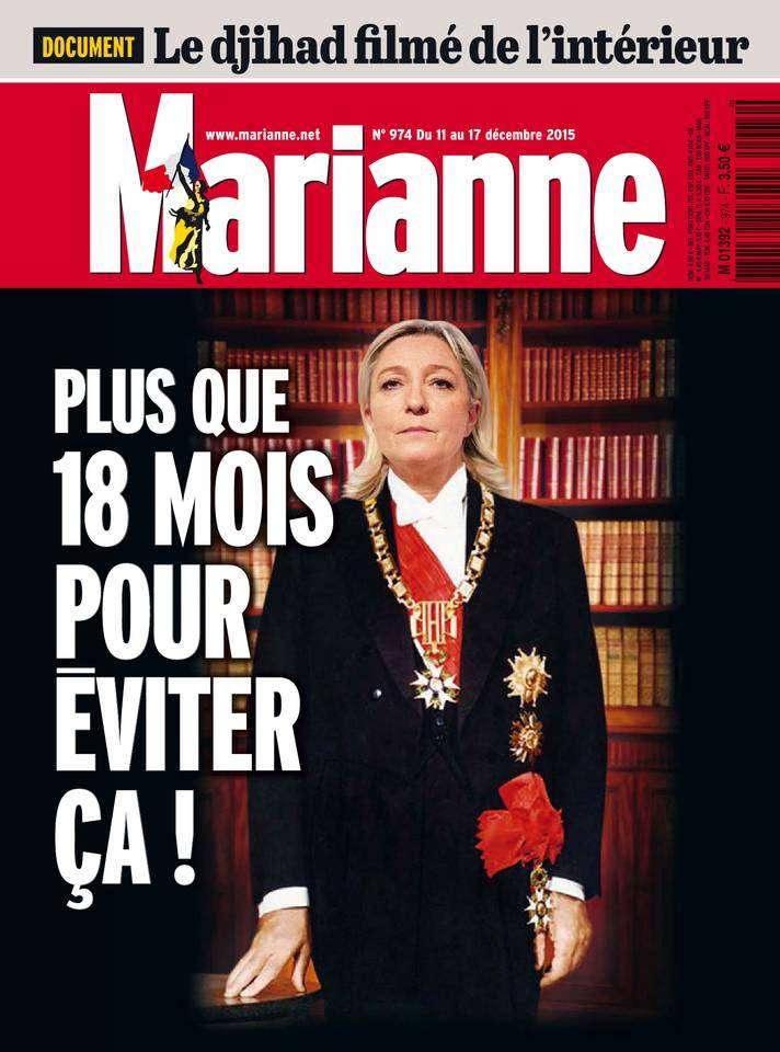 Marianne 974 - 11 au 17 Décembre 2015