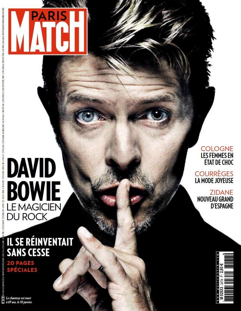 Paris Match 3478 - 14 au 20 Janvier 2016