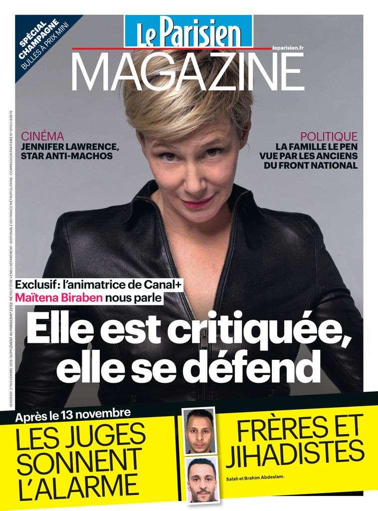 Le Parisien Magazine - 27 Novembre 2015