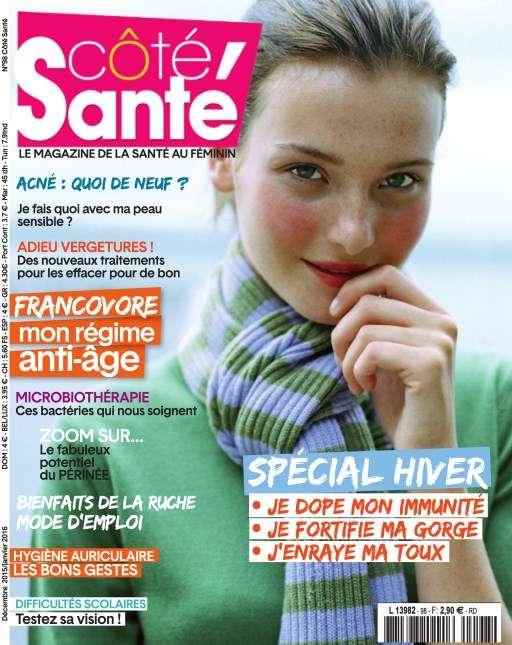 Côté Santé 98 - Décembre 2015 - Janvier 2016