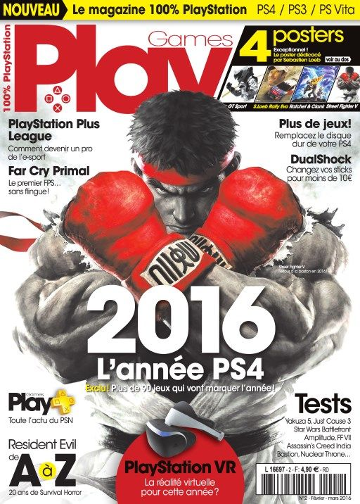PlayGames 2 - Février-Mars 2016
