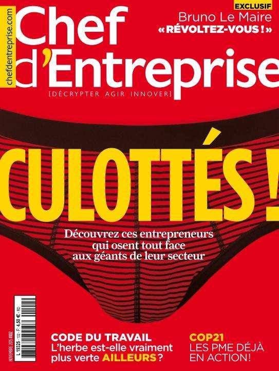 Chef D'Entreprise Magazine 104 - Novembre 2015