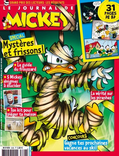 Le Journal de Mickey 3306 – 28 Octobre au 3 Novembre 2015