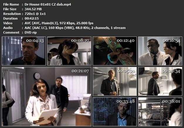 Re: Dr. House / House M.D. / CZ