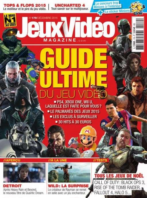 Jeux Vidéo Magazine 179 - Décembre 2015