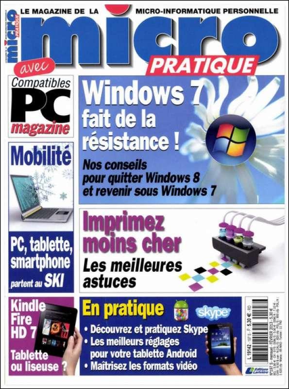 Micro Pratique 197 - WINDOWS 7