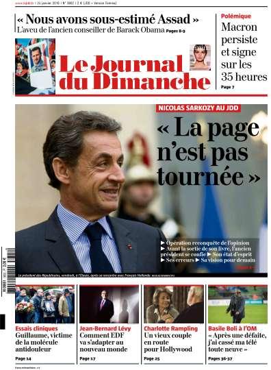 Le Journal du Dimanche - 24 Janvier 2016