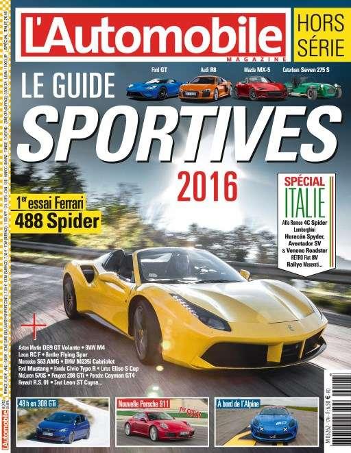 L'Automobile magazine Hors-Série 63 - Guide Sportive 2016