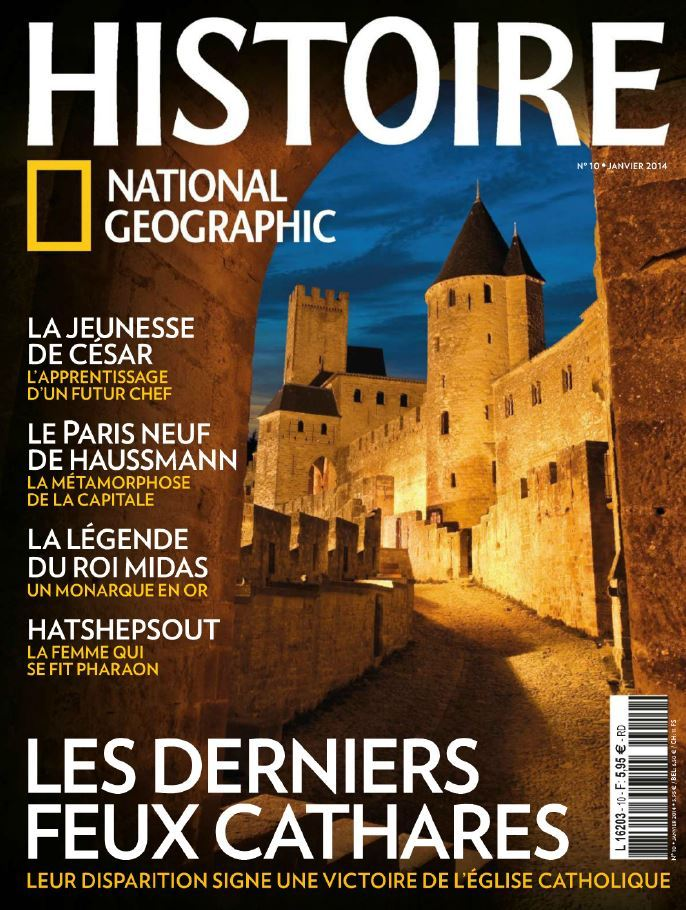 Histoire National Geographic 10 - Janvier 2014