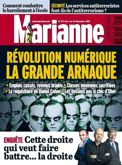 Marianne 973 - 4 au 10 Décembre 2015