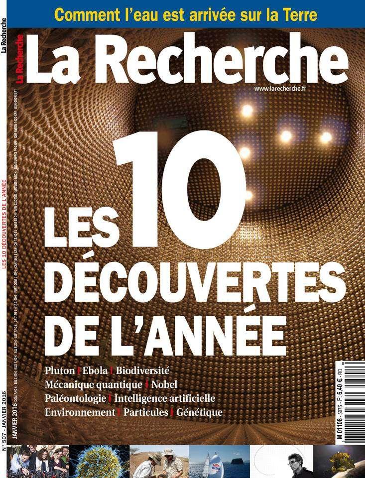 La Recherche 507 - Janvier 2016