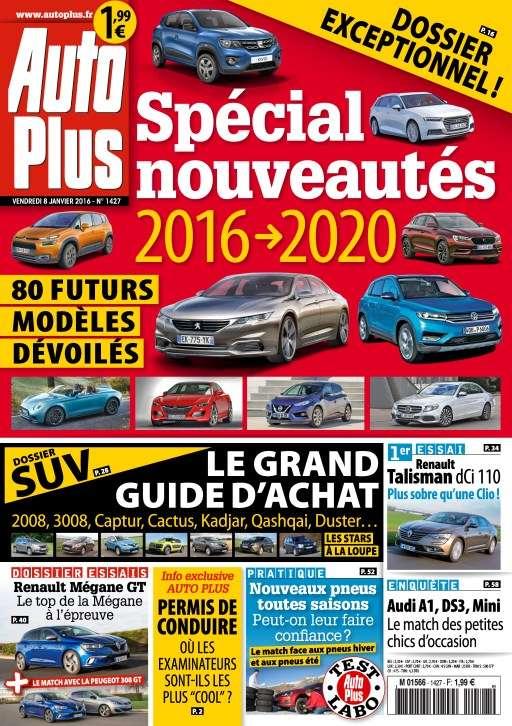 Auto Plus 1427 - 8 au 14 Janvier 2016