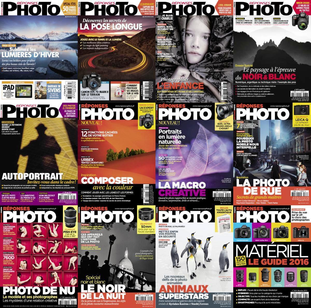 Réponses Photo 2015 - Full Year Issues Collection