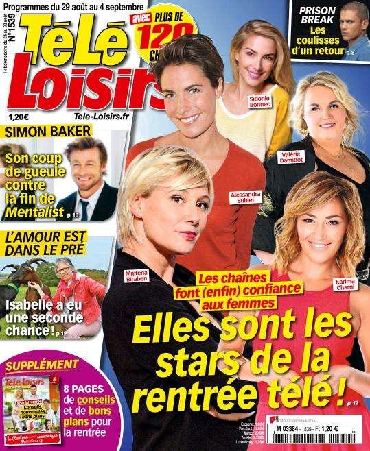 Télé Loisirs - 29 Août au 4 Septembre 2015