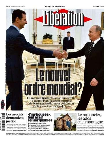 Libération du Jeudi 22 Octobre 2015