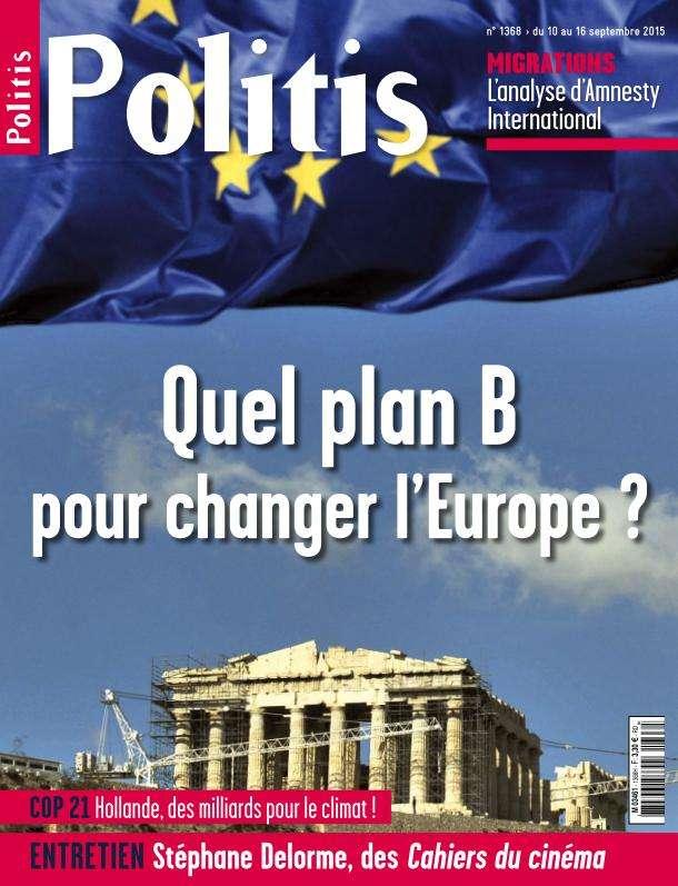 Politis 1368 - 10 au 16 Septembre 2015