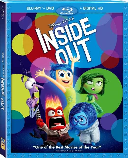Išvirkščias pasaulis / Inside out (2015) [BDRip x264] Animacinis / Komedija / Nuotykių