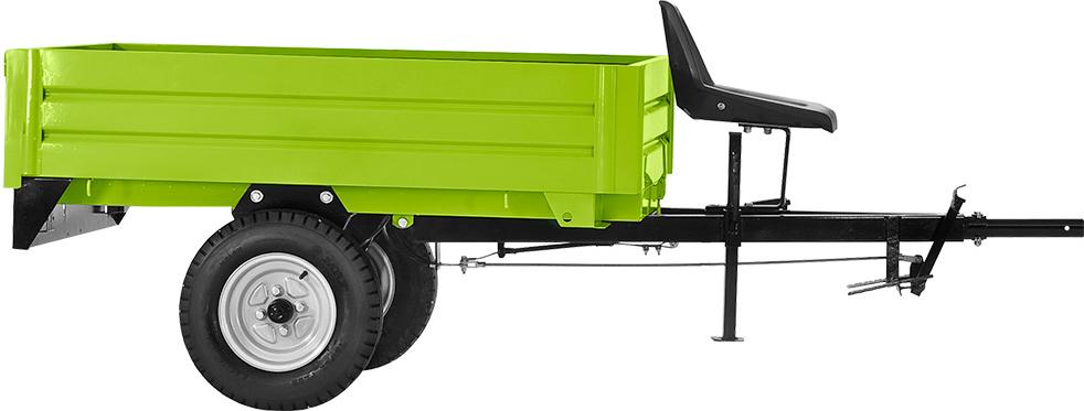 Remolque 1.5m Ecomaqmx Grillo Para Motocultor Agricola