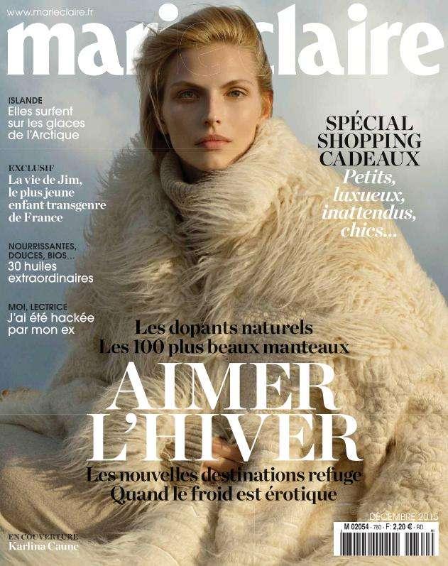Marie Claire France - Décembre 2015