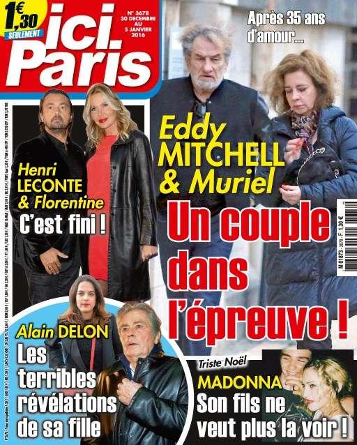 Ici Paris 3678 - 30 Décembre 2015 au 6 Janvier 2016