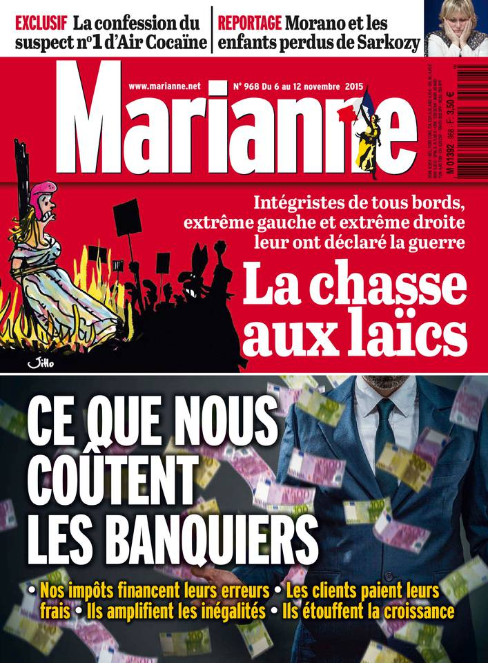 Marianne 968 - 6 au 12 Novembre 2015