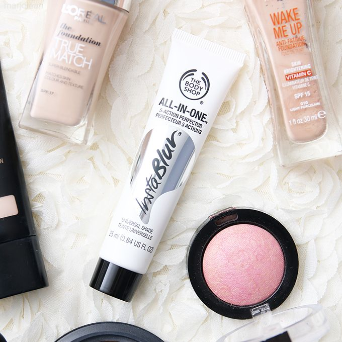 how to use body shop instablur