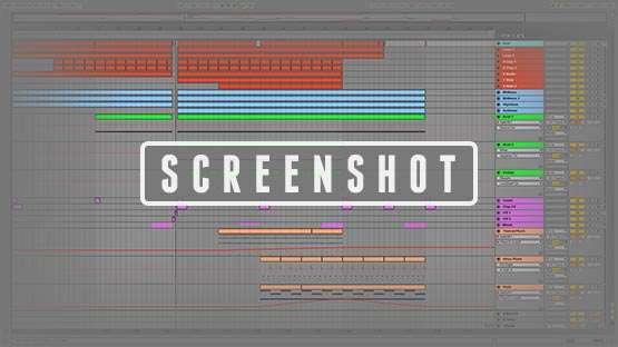 Dennis Pedersen Ableton Live Template Preview Screenshot