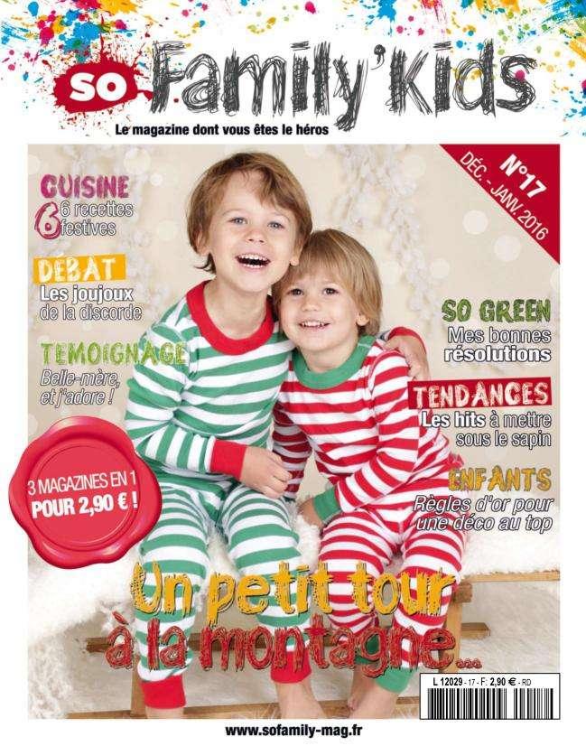 So Family' Kids - Décembre-Janvier 2016