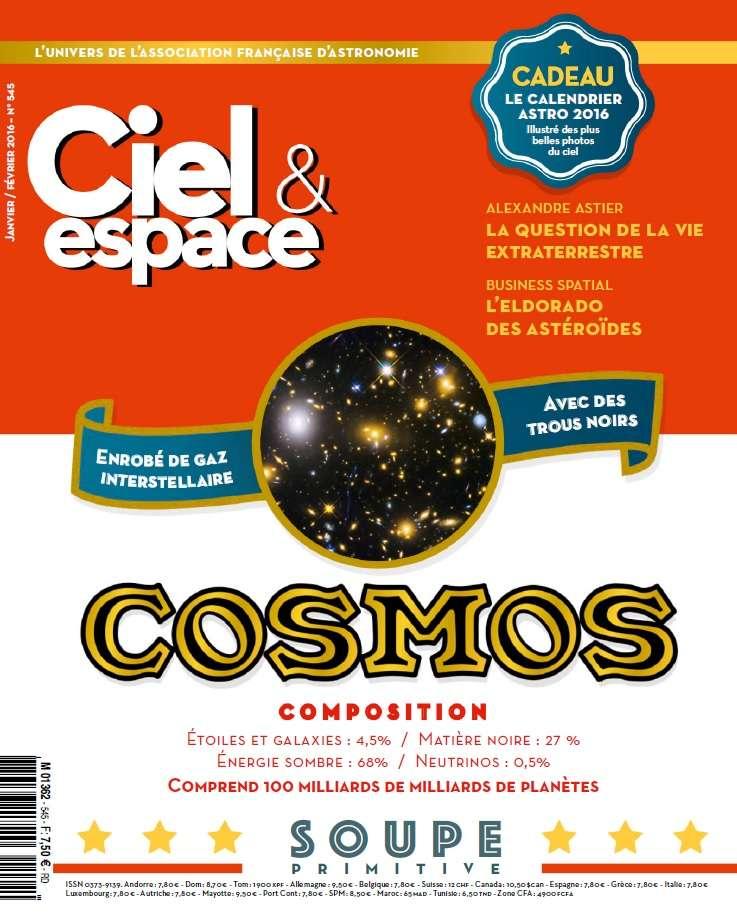 Ciel & Espace 545 - Janvier-Février 2016