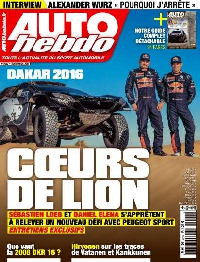 Auto Hebdo - 15 Décembre 2015