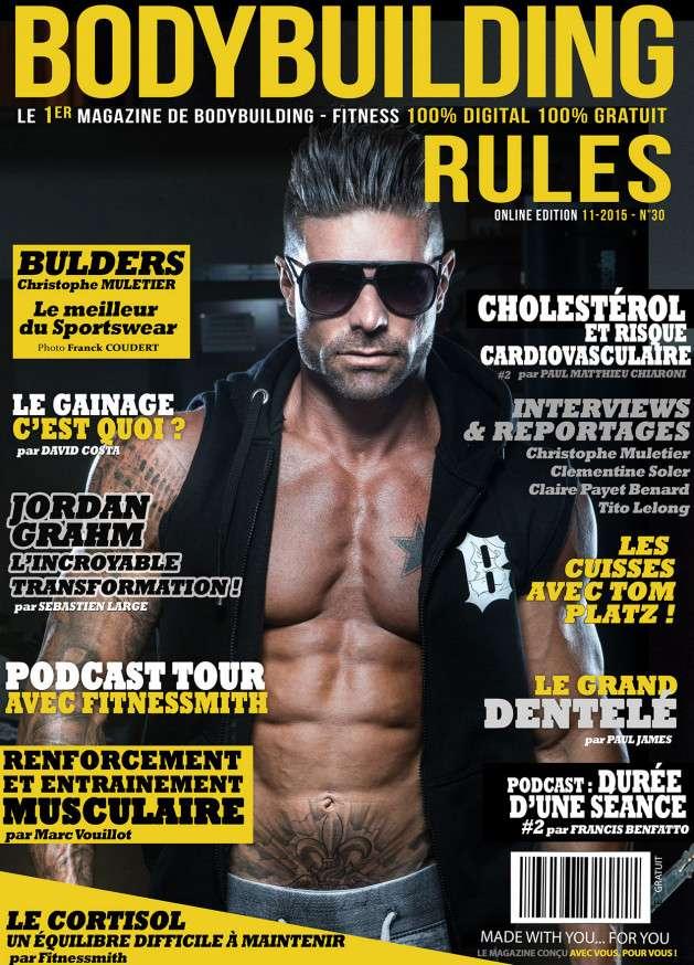 Bodybuilding Rules - Novembre 2015
