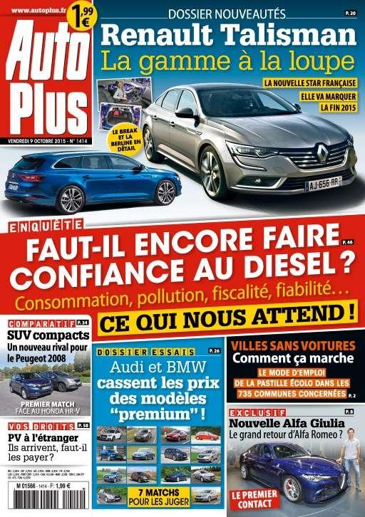 Auto Plus 1414 - 9 au 16 Octobre 2015