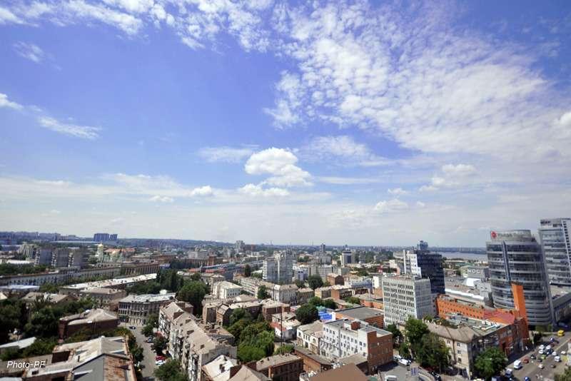 Вид на Днепропетровск