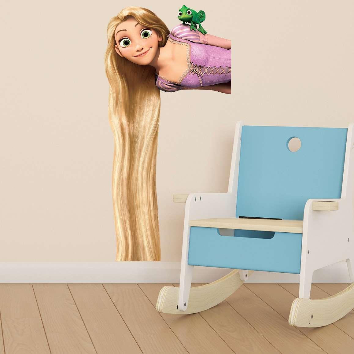 raiponce enfants filles chambre couleur vinyle d calque. Black Bedroom Furniture Sets. Home Design Ideas