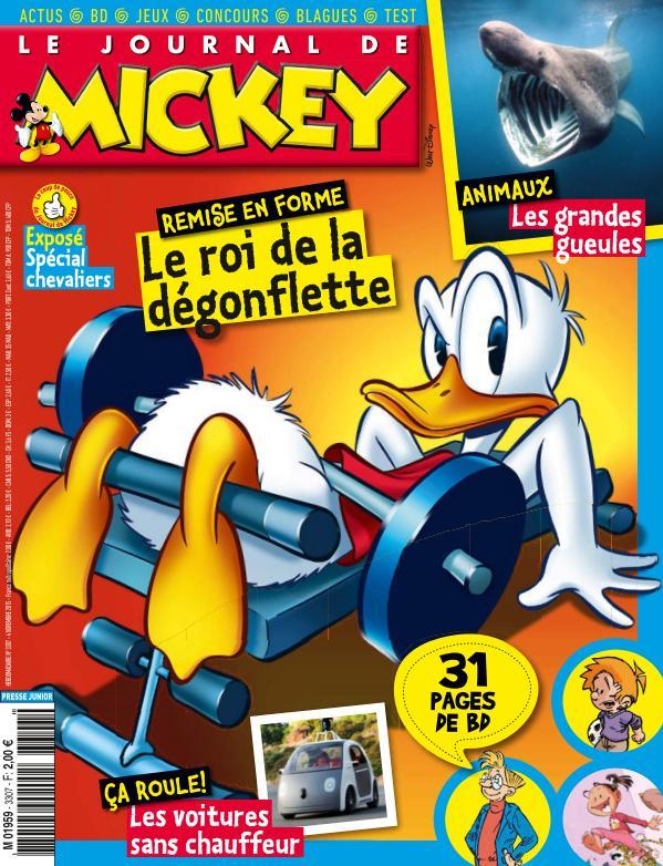 Le Journal de Mickey - 4 Novembre 2015