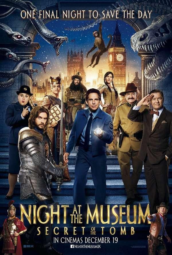 Night at the Museum 3 ไนท์ แอท เดอะ มิวเซียม 3 ความลับสุสานอัศจรรย์ HD 2014 ภาพมาสเตอร์