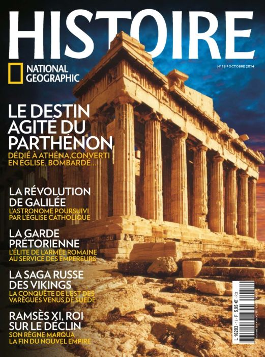 Histoire National Geographic 18 - Octobre 2014