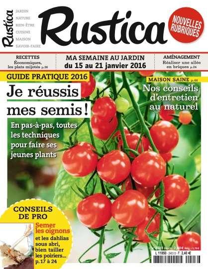 Rustica 2403 - 15 au 21 Janvier 2016