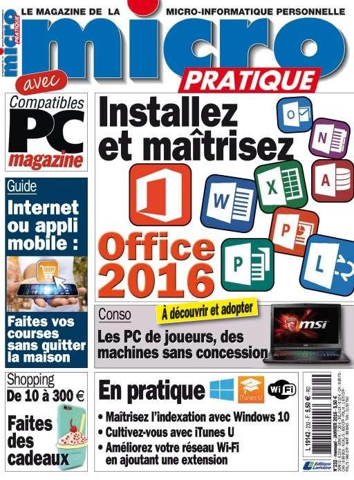 Micro Pratique 232 - Janvier 2016