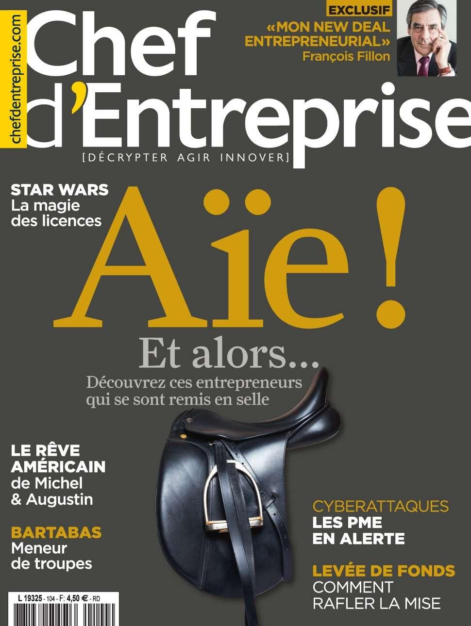 Chef d'Entreprise magazine 104 - Février-Mars 2016