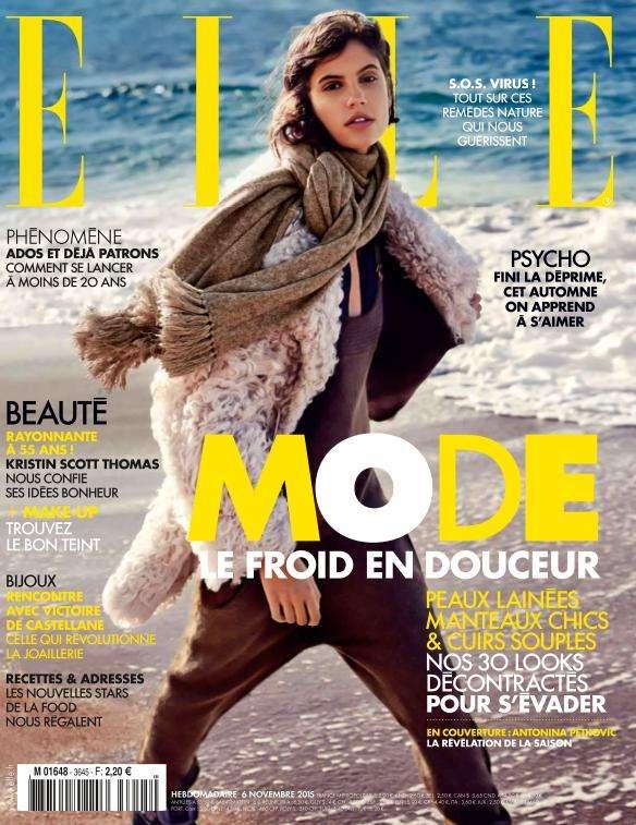 Elle France 3645 - 6 au 12 Novembre 2015