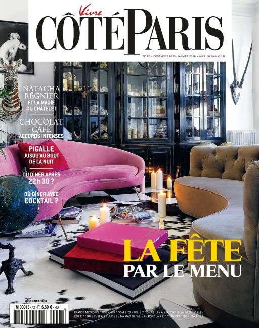 Vivre Côté Paris 42 - Décembre 2015 - Janvier 2016