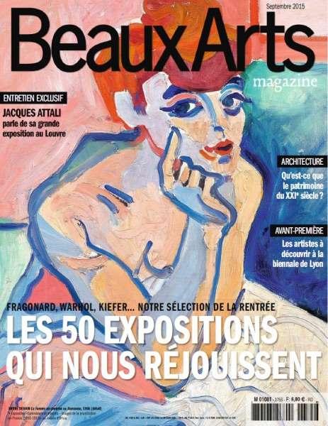Beaux Arts 375 – Septembre 2015