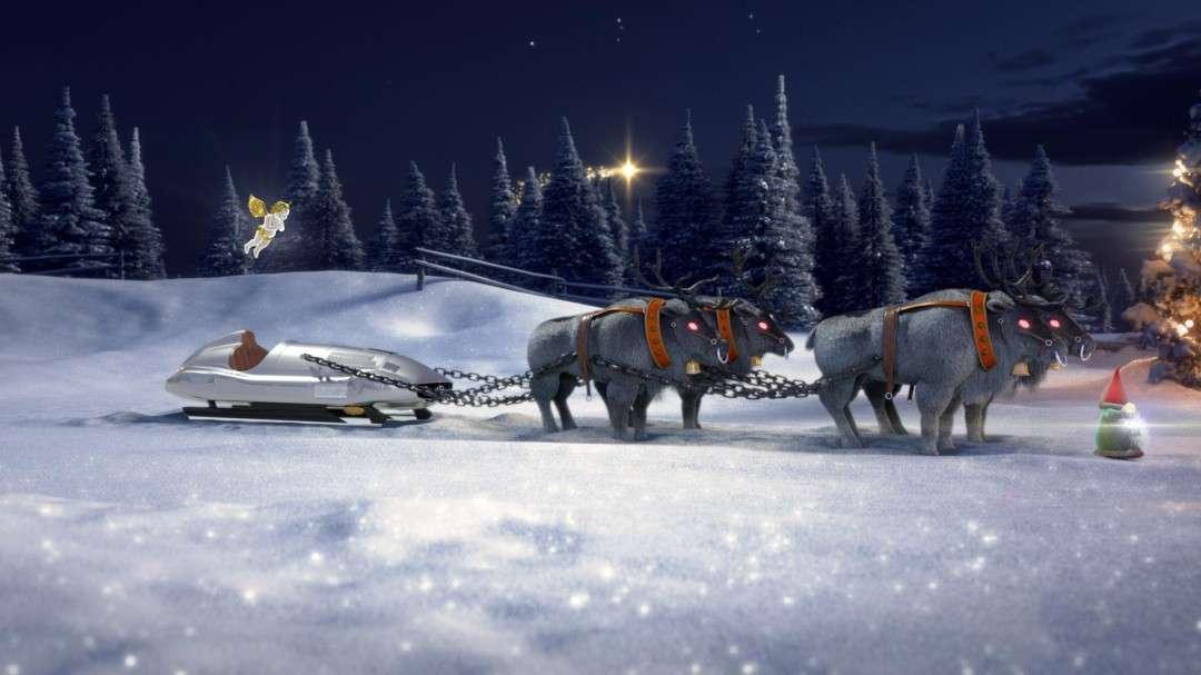Mercedes-Benz Santa sleigh configurator